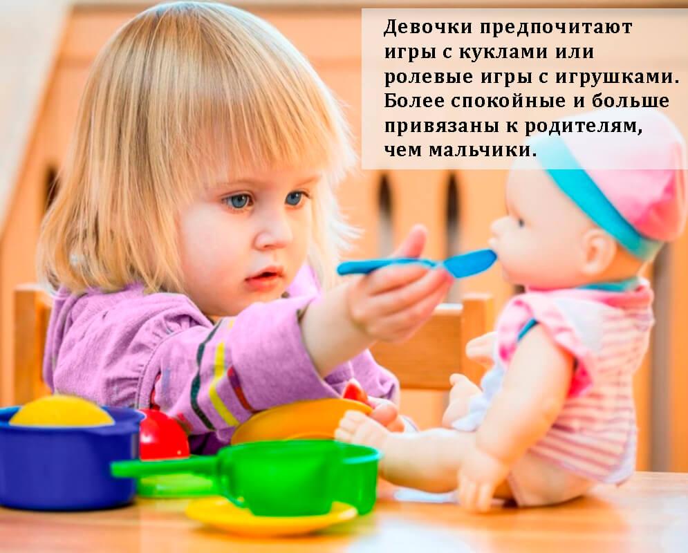 Девочки в 4 года