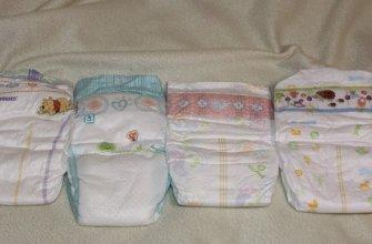 топ лучших подгузников для новорожденных