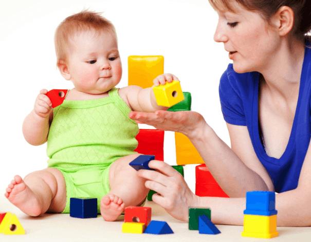 Занятия и игры для развития ребенка