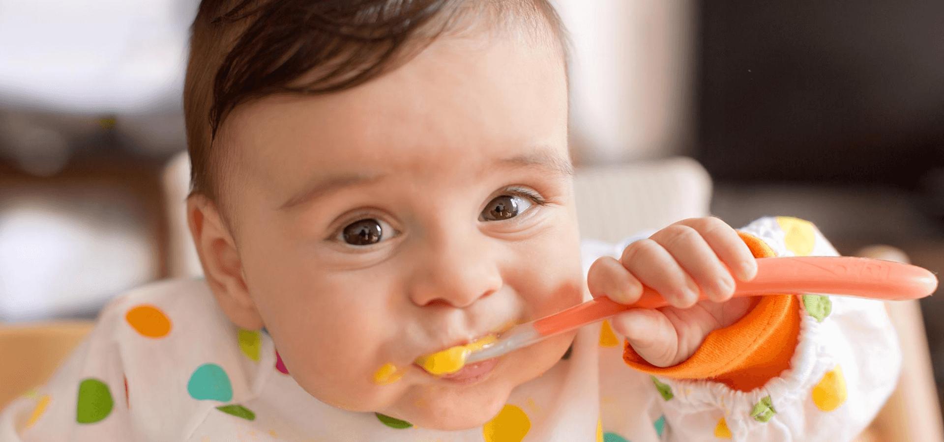 Кормление и меню для детей в 7 месяцев