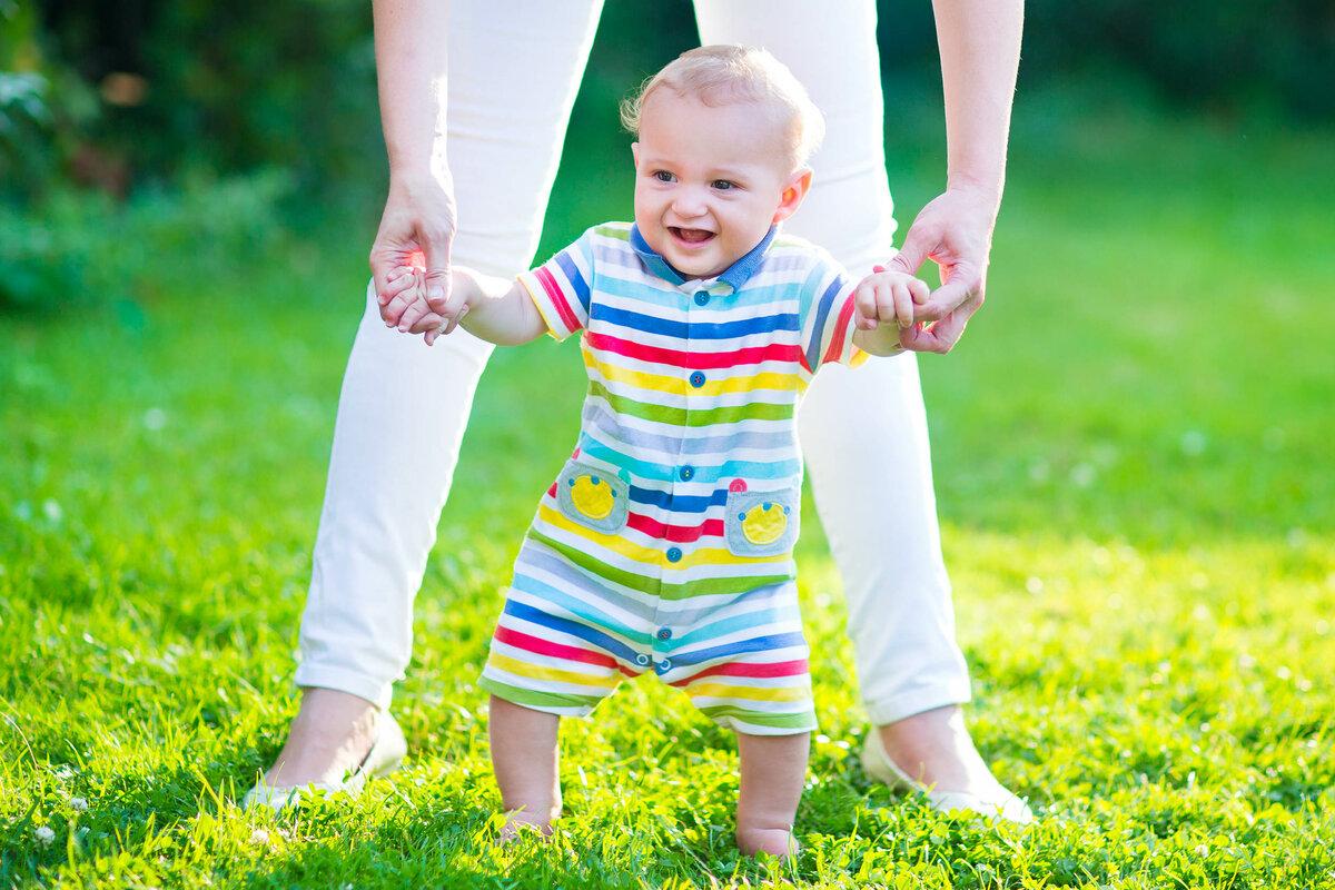 Гимнастика и игры с ребенком