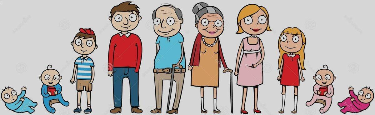 Возрастные периоды человека